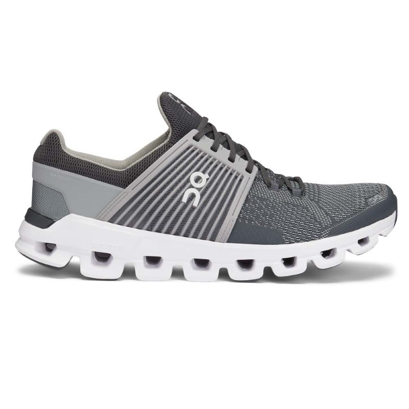 ON Mens Cloudswift  Running Shoe Rock Slate