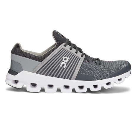 ON Mens Cloudswift  Running Shoe Rock Slate