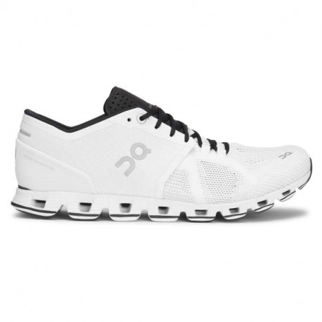 ON Womens Cloud X  Running Shoe White Black