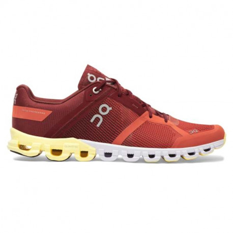 ON Mens Cloudflow Running Shoe Rust Limelight