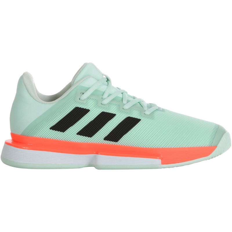 Mens Adidas Solematch Bounce Tennis Shoe GRN