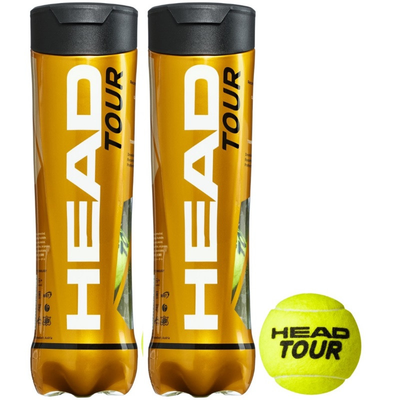 Head Tour 4Ball X2 Tennis Ball