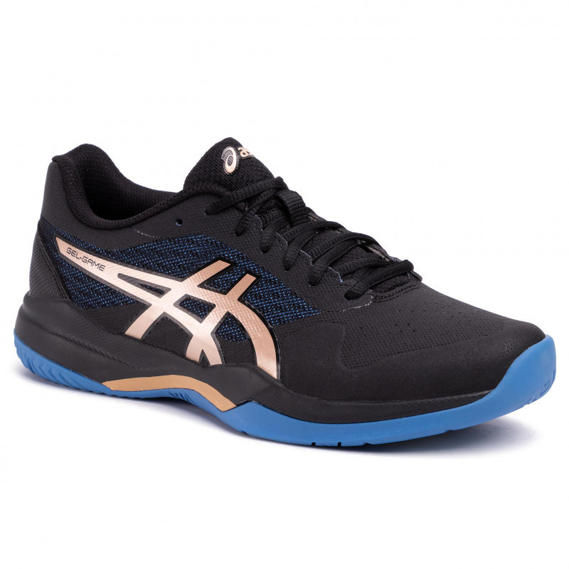 Asics Gel-Game 7 Black Gold  Tennis Shoe