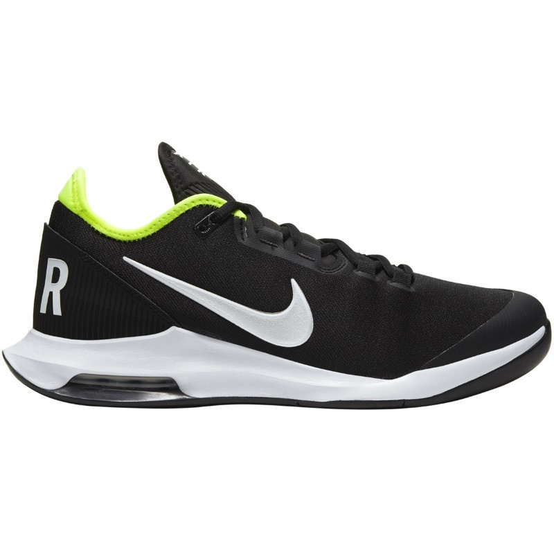 Mens Nike Air Max Wildcard BLK/WH/LIME Tennis Shoe