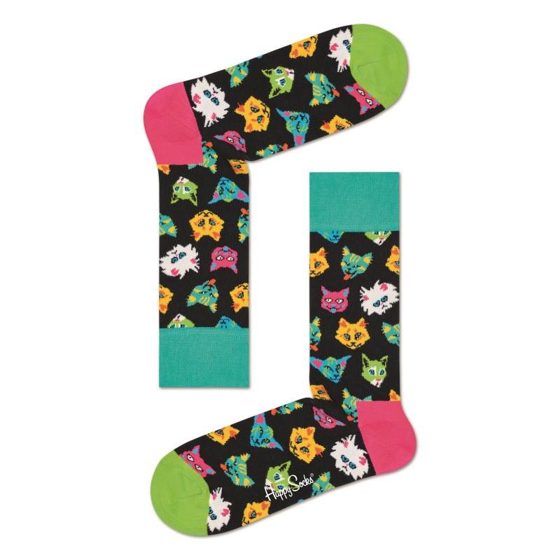 HAPPY SOCKS Funny Cat Sock FCA01-9300
