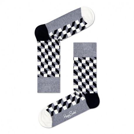 HAPPY SOCKS Filled Optic Sock FO01-901