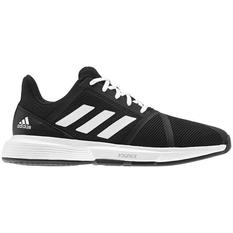 Mens Adidas CourtJam Bounce  Tennis Shoe Black/White
