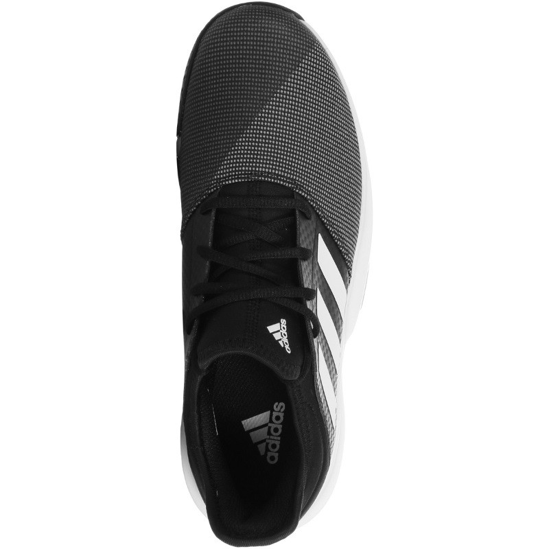 Mens Adidas GameCourt Tennis Shoe Black/White