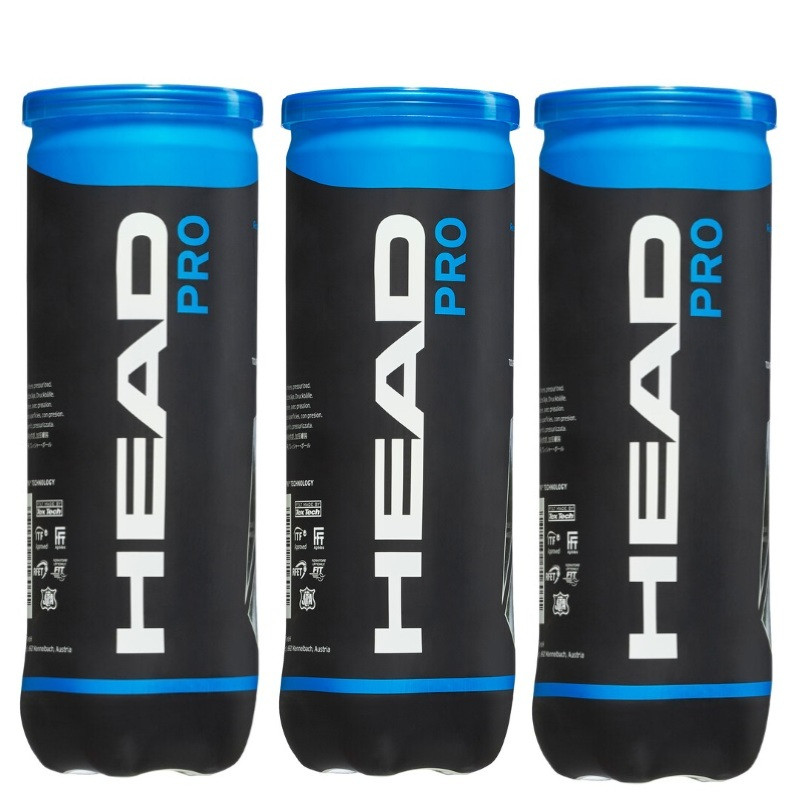 Head Pro 3Ball X3 Tennis Ball