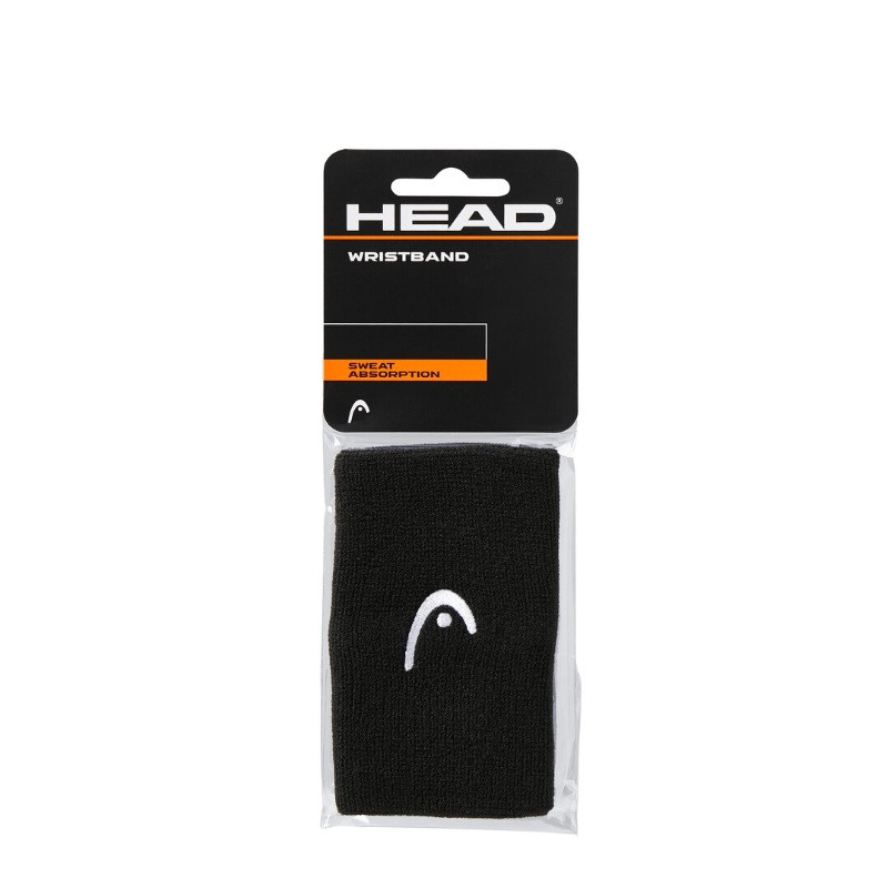 Head Wristband  5 '' BLACK