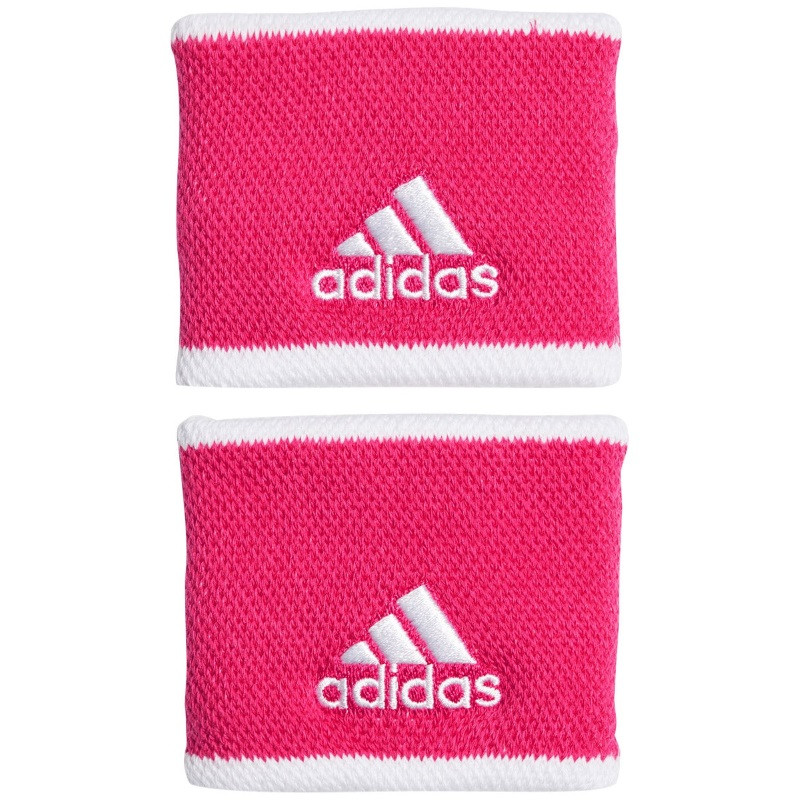 Adidas Tennis Wristband Small Pink White