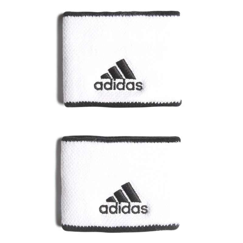 Adidas Tennis Wristband Small White Black