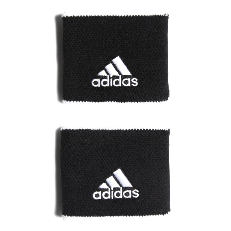 Adidas Tennis Wristband Small Black/White