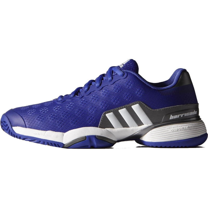 Adidas Juniors Barricade 9 Tennis Shoe