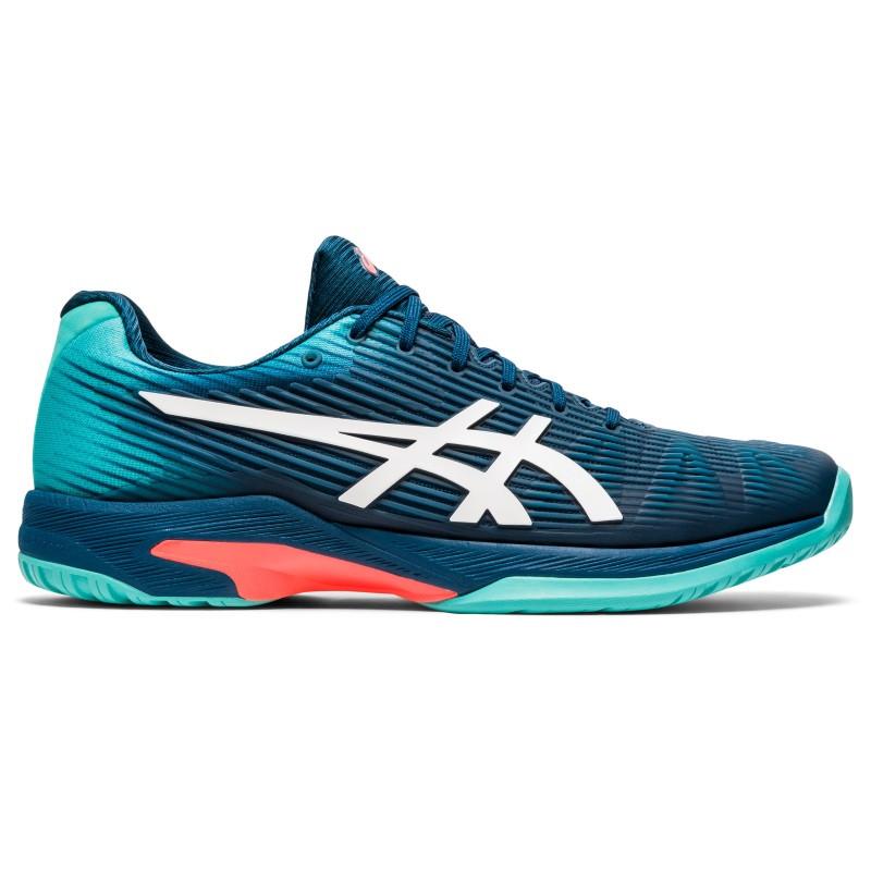 Asics Mens Solution Speed FF Tennis Shoe BLUE/WHITE