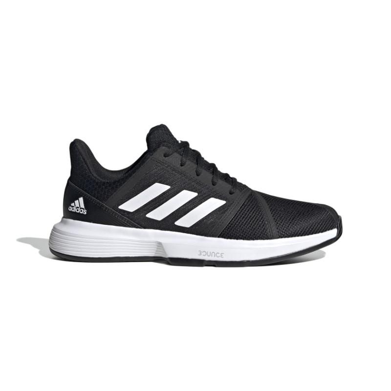 Mens Adidas CourtJam Bounce  Tennis Shoe Black