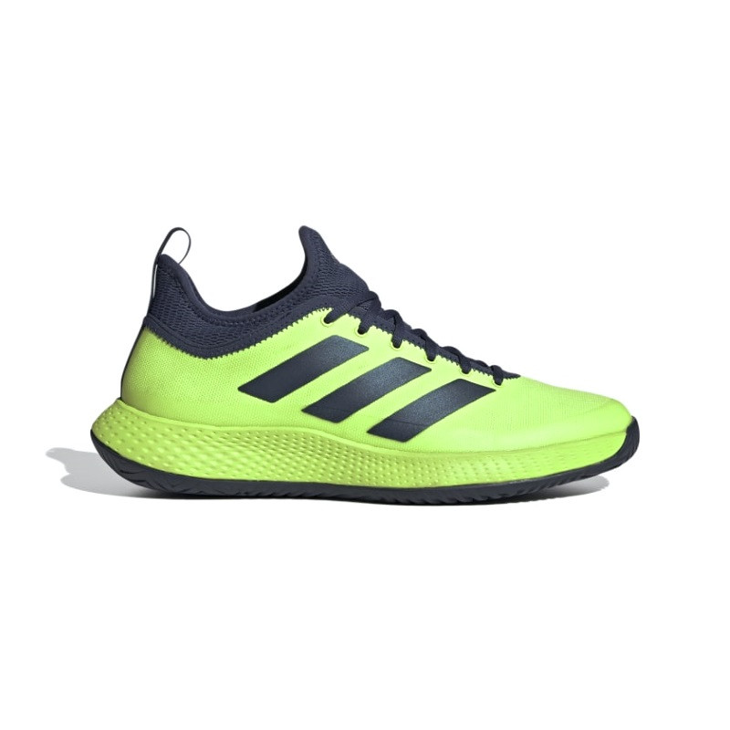 Adidas Mens Defiant Generation Tennis Shoe Signal Green