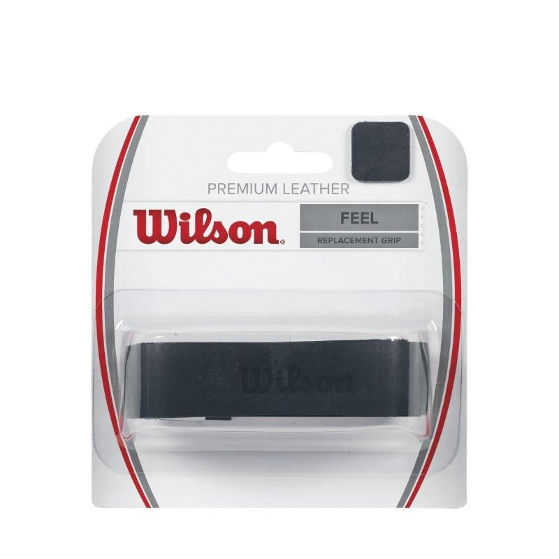 Wilson Premium Leather Black Replacement Grip