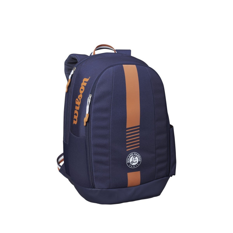 WILSON ROLAND GARROS TEAM BACKPACK Navy/CLAY