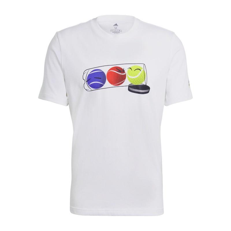 Adidas Mens M SS Q1 TEE 1 T Shirt