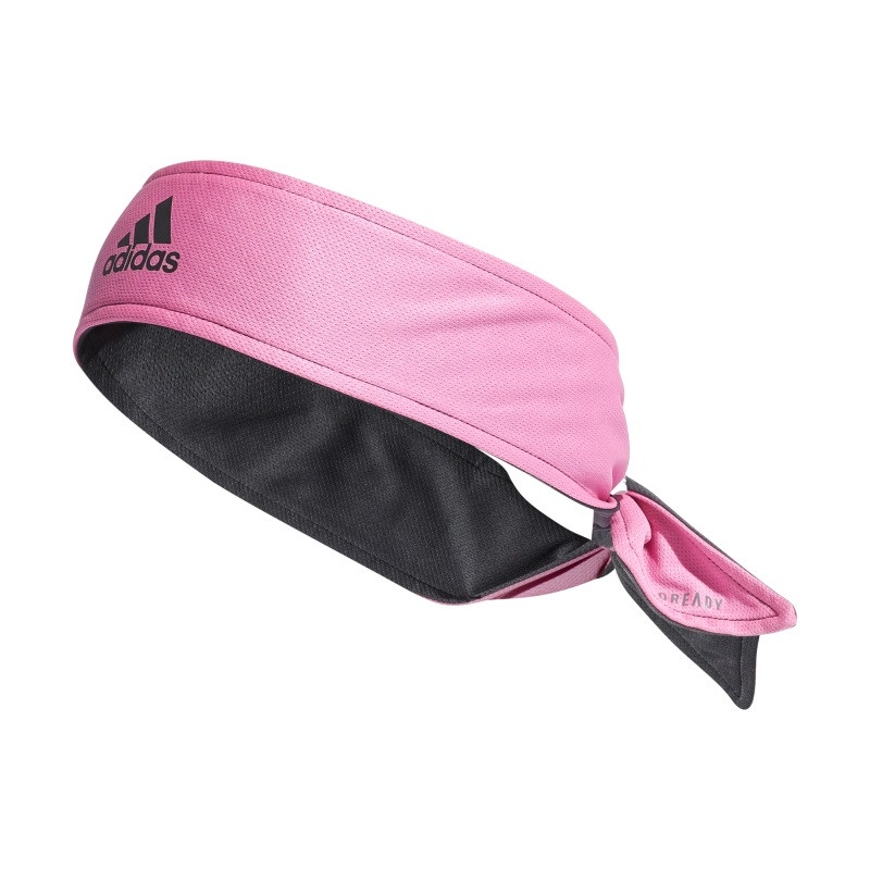 Adidas TENNIS Bandnana TWO-COLOR AEROREADY REVERSIBLE Screaming Pink / Grey / Black / Onix