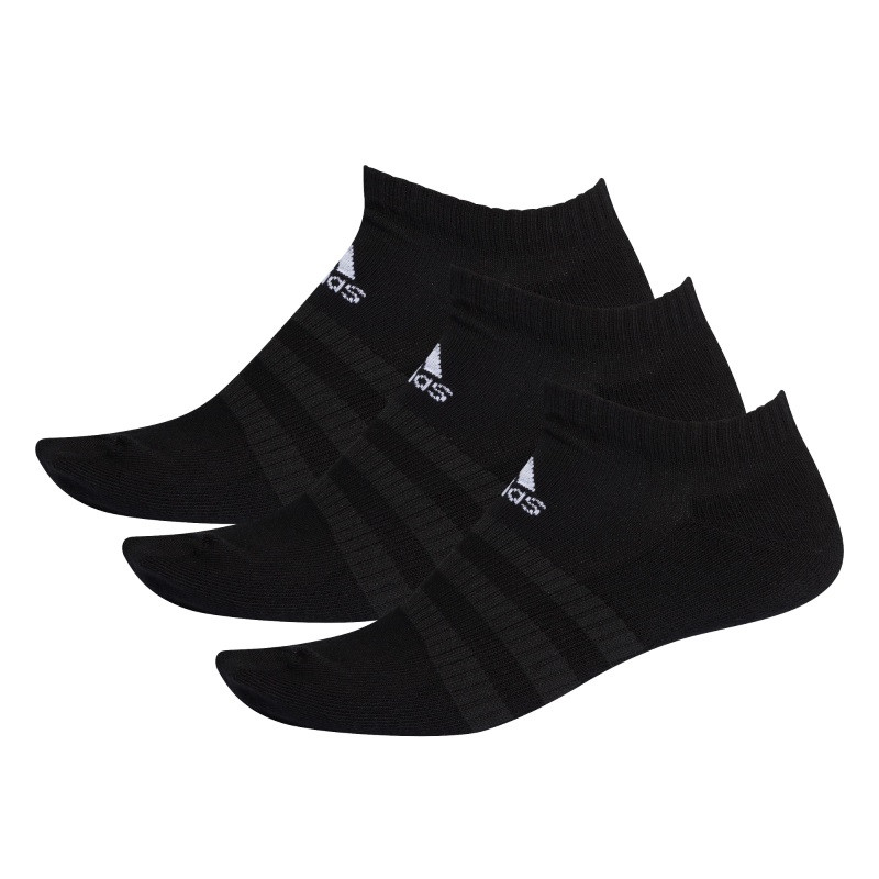Adidas CUSH LOW 3PP Socks BLACK