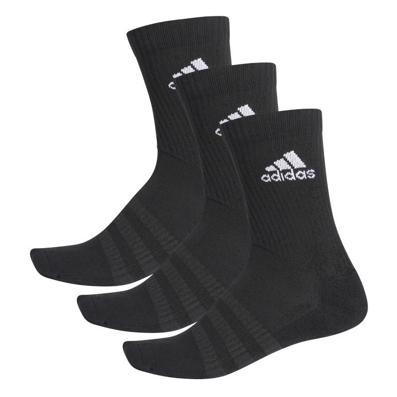 Adidas CUSH CRW 3PP Socks Black