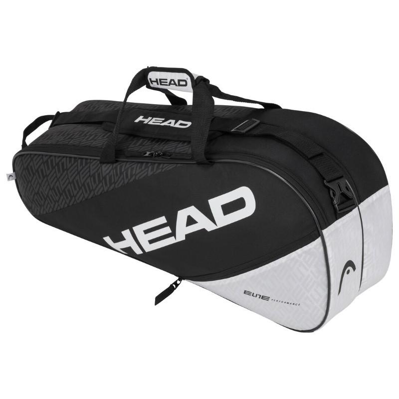 Head Elite 6R Combi Tennis Bag BKWH