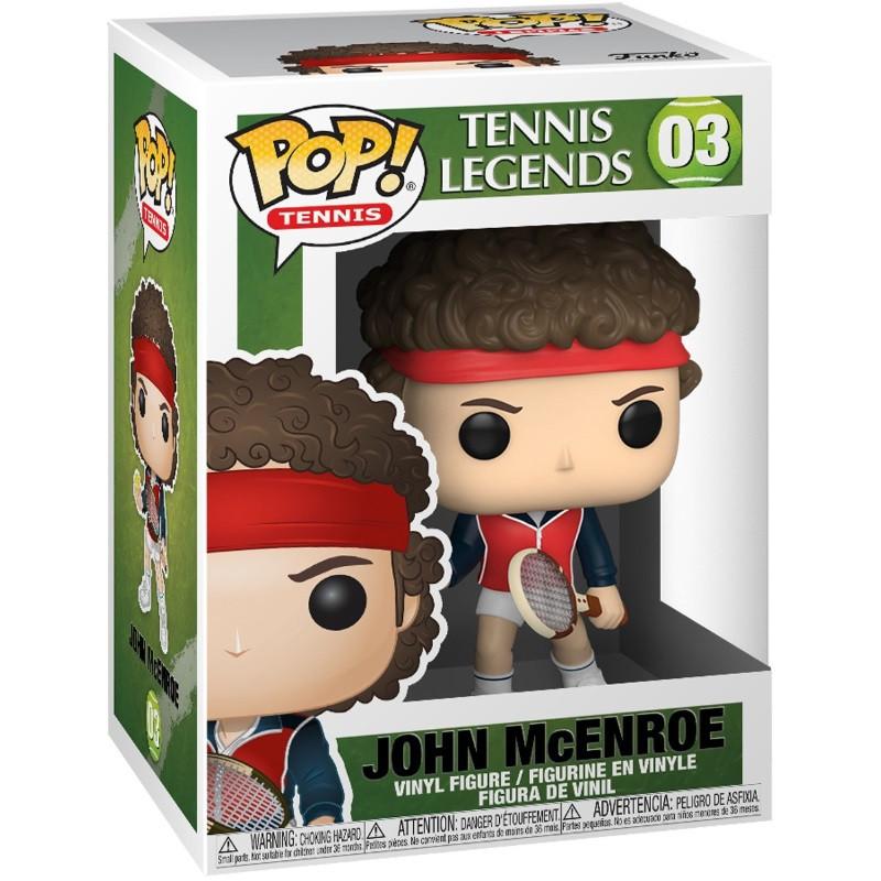 Funko POP! Tennis: Tennis Legends - John McEnroe 03 Vinyl Figure