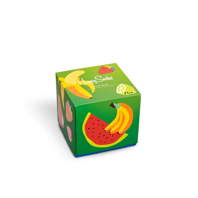 HAPPY SOCKS 4-Pack Fruit Socks Gift Set XFRU09-6500