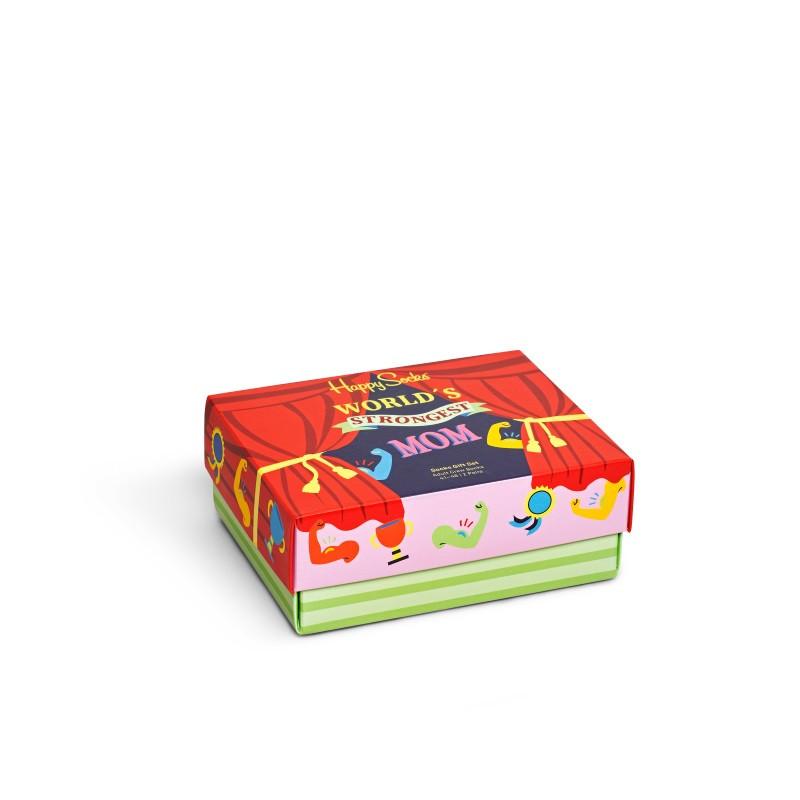 HAPPY SOCKS  2-Pack Mother´s Day Socks Gift Set XMOT02-9300