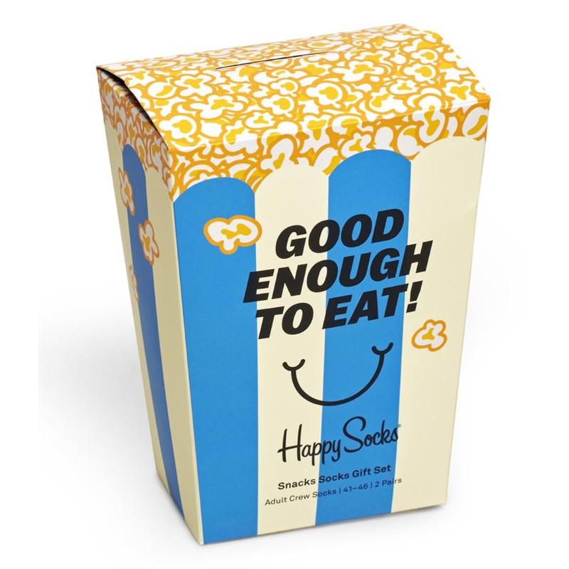 HAPPY SOCKS  2-Pack Snacks Socks Gift Set XSNA02-6300