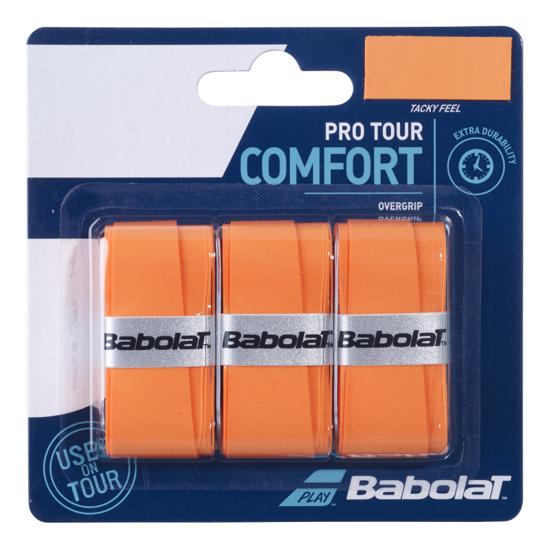 Babolat Pro Tour Overgrip x3 Orange