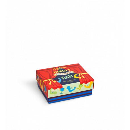 HAPPY SOCKS 2-Pack Father´s Day Socks Gift Set XFAT02-0200