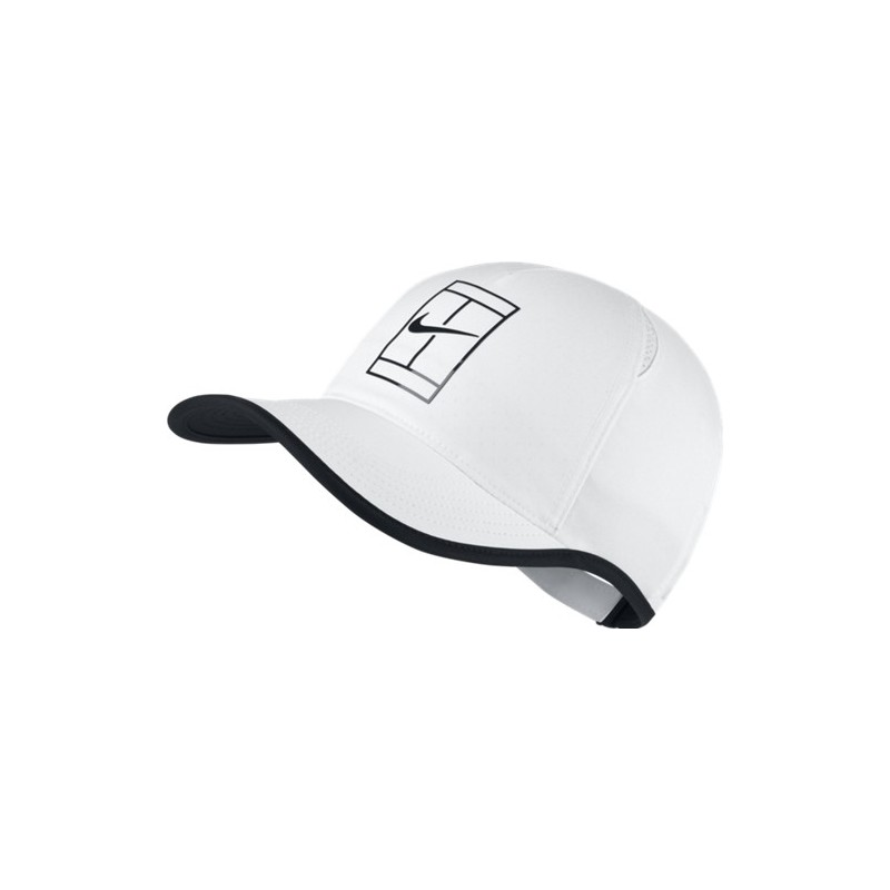 NikeCourt AeroBill Featherlight Tennis Cap 864105-100
