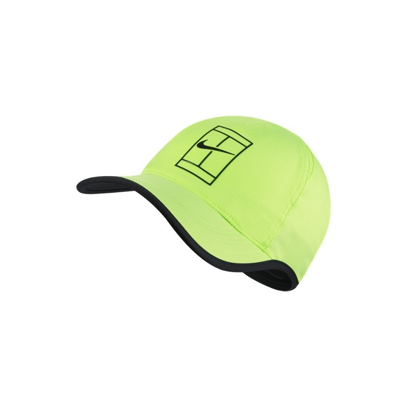 NikeCourt AeroBill Featherlight Tennis Cap 864105-367