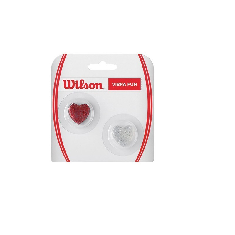 Wilson Glitter Hearts Dampener